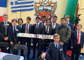 Success at Model United Nations Conference for MGS boys