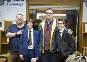 Russell T Davies visits MGS