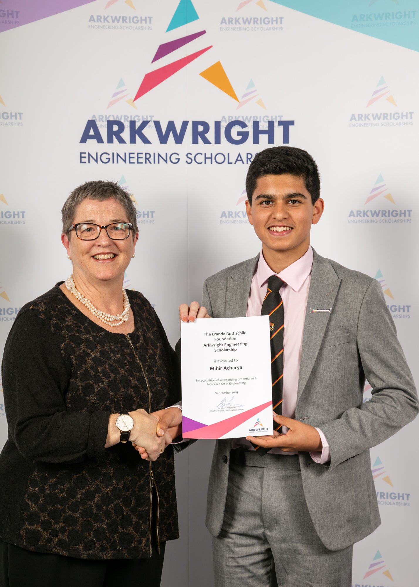 Arkwright scholarship awards 173