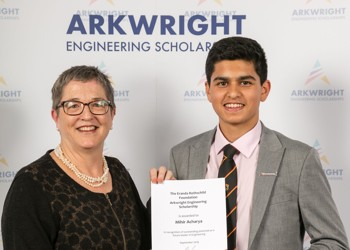Mihir awarded Arkwright Engineering Scholarship
