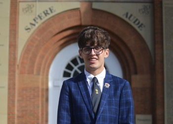 School Captain Harrison wins place in prestigious national competition