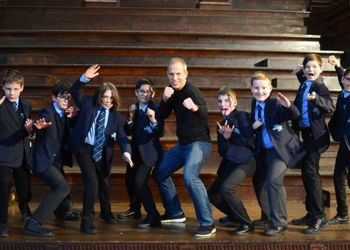Martial Artist and Author visits MGS