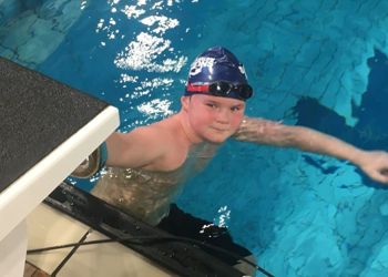 Swimming star Freddie ranked No.1 in Cheshire