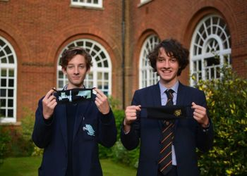 MGS brothers design customised face masks to raise money for UNICEF