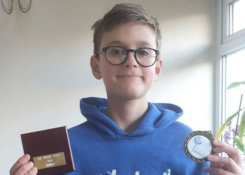 Fencing Success for MGS's Ted