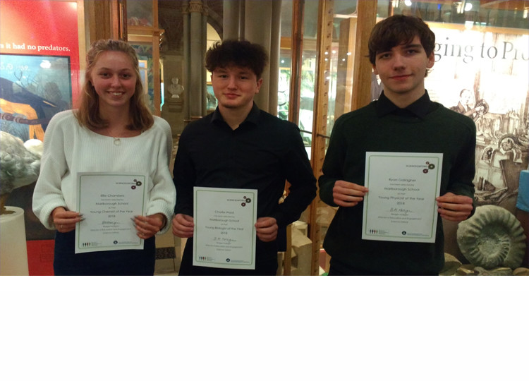 Oxfordshire Young Scientists of The Year Award