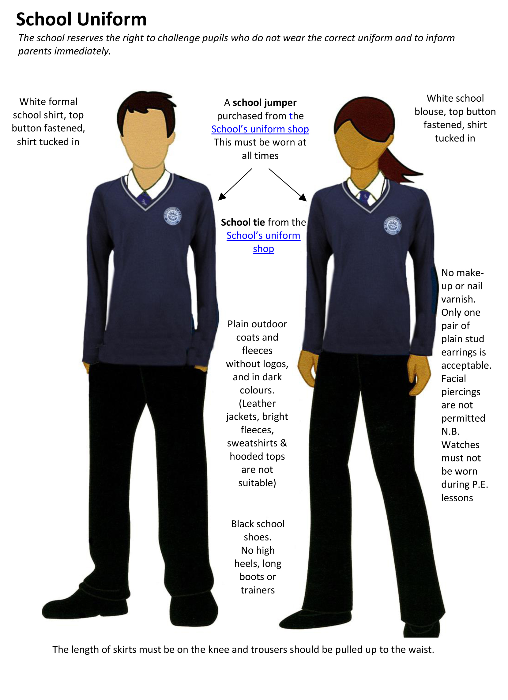 Uniform pages 2