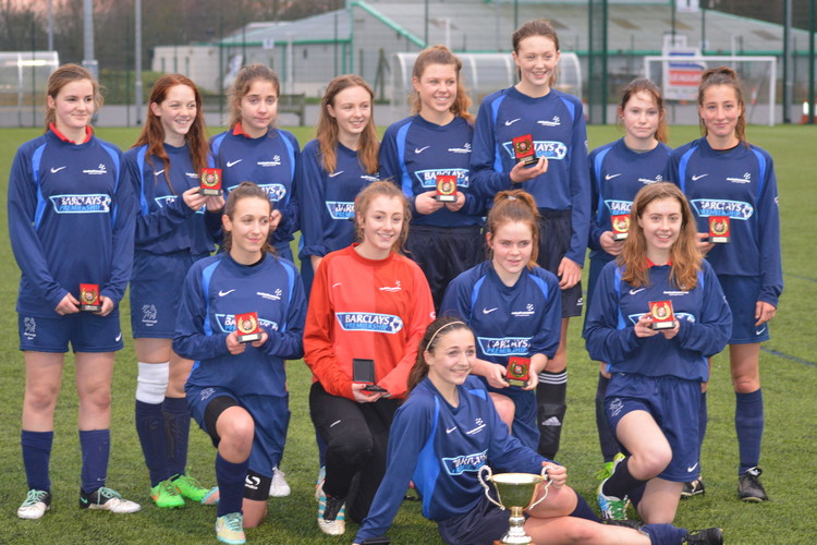 Under 16 girls county cup 2015