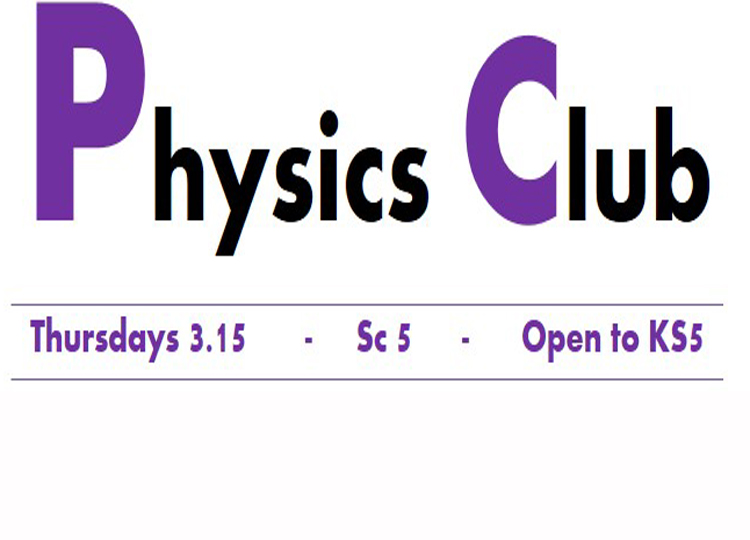 KS5 Physics Club