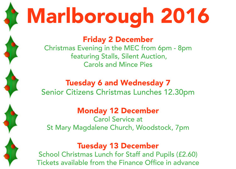 Christmas at Marlborough