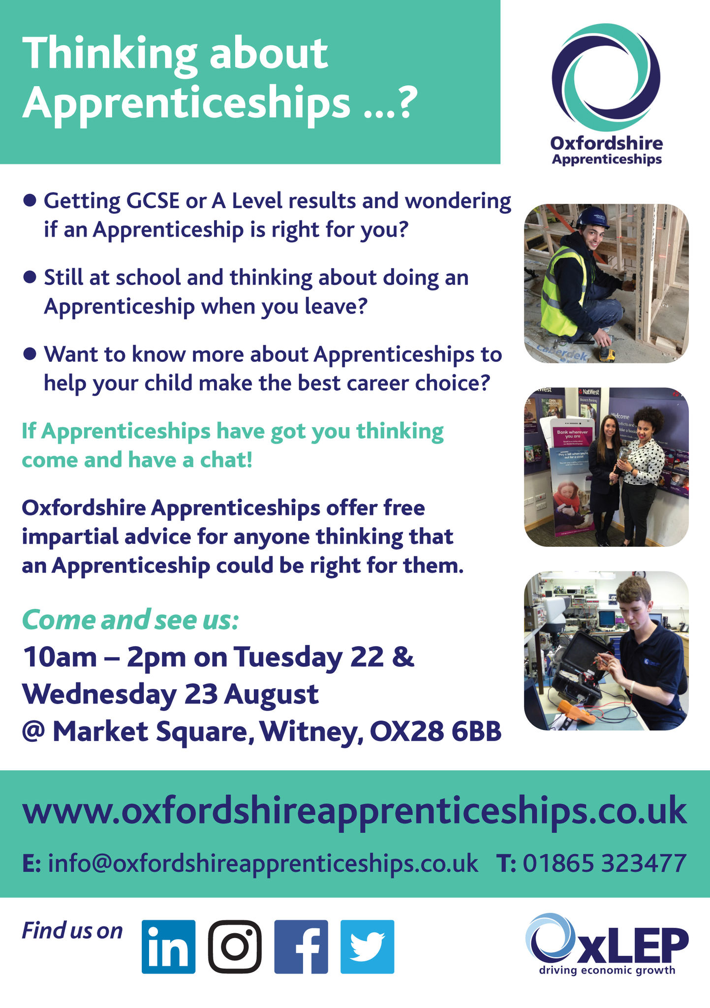 Apprenticeship flyer witney proof
