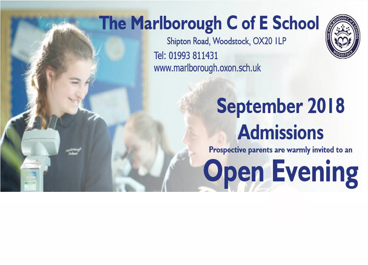 Open Evening For Prospective Parents - Thursday 28th September 2017