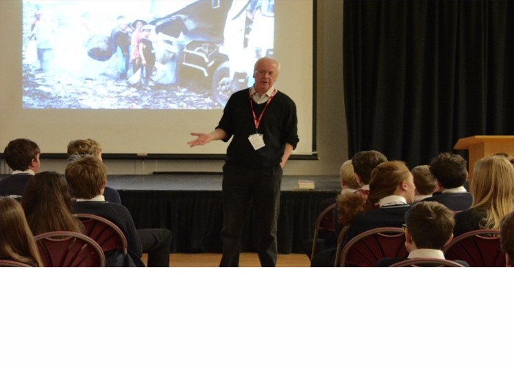Author Visit - Andy Mulligan