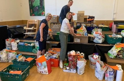 Food Bank - donor update