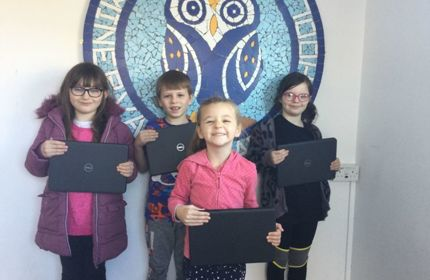BBC Radio Somerset: free laptops