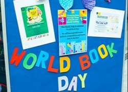 Celebrating World Book Day at Oaks Park High