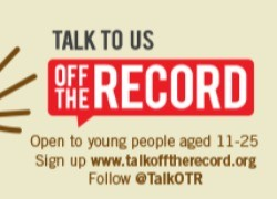 'Off the Record' Easter Break Timetable