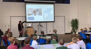 Local Primary Pupils Attend Ignite Session