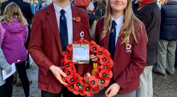 TPS Students at Remembrance Service