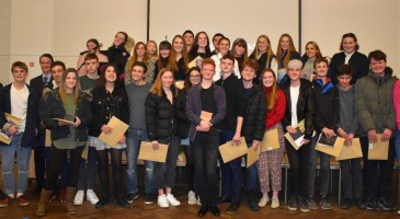GCSE Certificates & Reunion Evening
