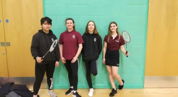 TPS at the KS4 County Badminton Competition