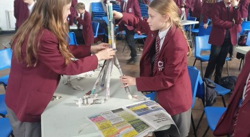 Students Learn About Strong Structures