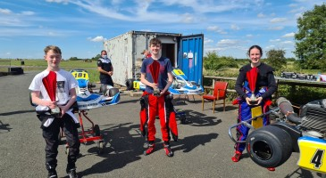 Bronze for Dylan at UK Kart Series