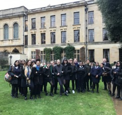 Computer Science – Queen's College, Oxford University Trip
