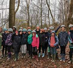 Year 7 had muddy fun at Carroty Wood in Kent this week. During the week they worked together to cook dinner for each other every night and support one another on the muddy trails. A big thank you to all the staff who accompanied the trip.