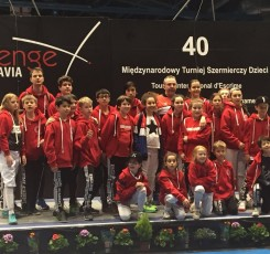 Year 7 student takes part in Challenge Wratislavia fencing competition
