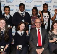 Students awarded medals at the Jack Petchey Awards