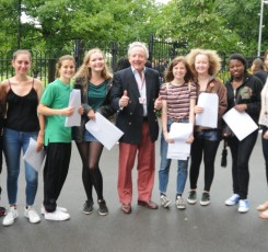A Level Results 'significantly improved'