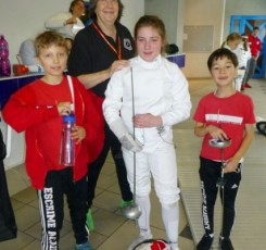 Congratulations to our fencing champion, Alice King