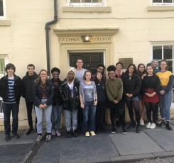 6th form group visit St Chad's College, University of Durham