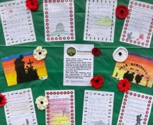 Remembrance notice board 2