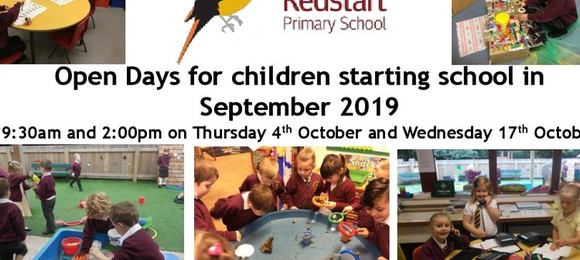 Starting School in September 2019?