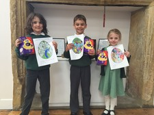 Easter colouring competition winners 2016