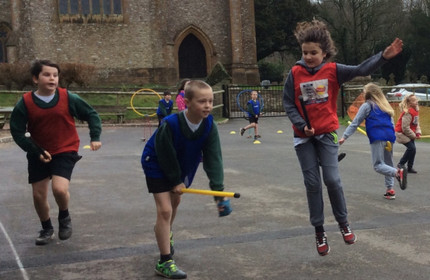 Buckland's first Quidditch match of the season