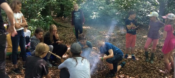 Woodland learning for Taunton pupils