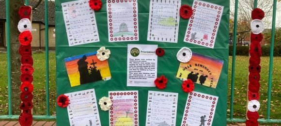 Priorswood Primary School – A time to remember