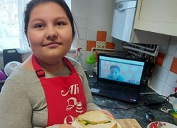 Children with PMLD learn remotely
