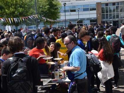 Students host first summer fete