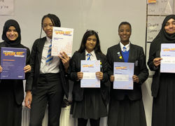 Public speaking challenge boosts confidence