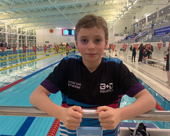 Autistic swimmer's success