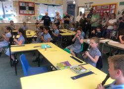 Recorder players demonstrate new talent