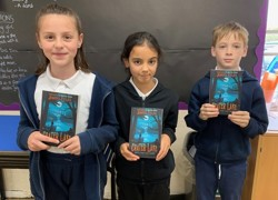 Author turns to Roydon pupils before publishing