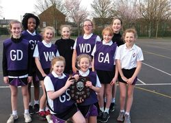 Year 7 Girls are Trafford Netball Champions!