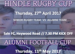 Hindle Rugby & Alumni Football Cup
