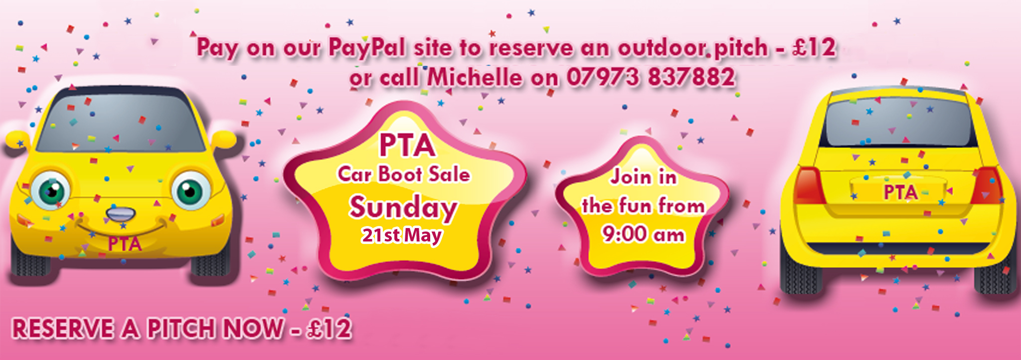 PTA Carboot 21 May 17
