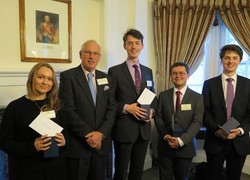Head Boy wins first prize in Society for Army Historical Research essay competition